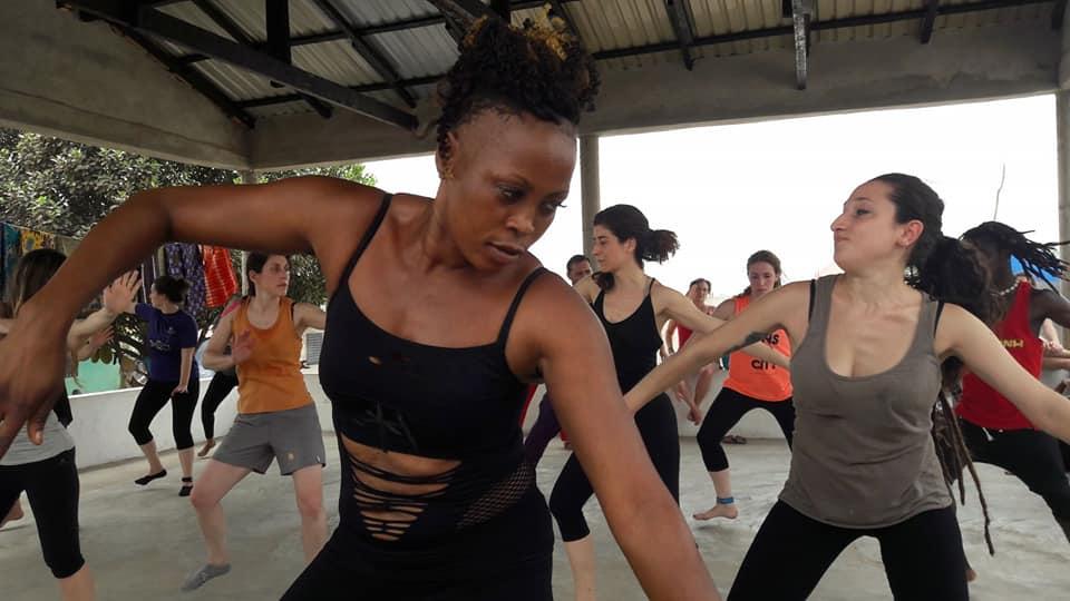 Workshop African Dance Guinee - Kukutamtam