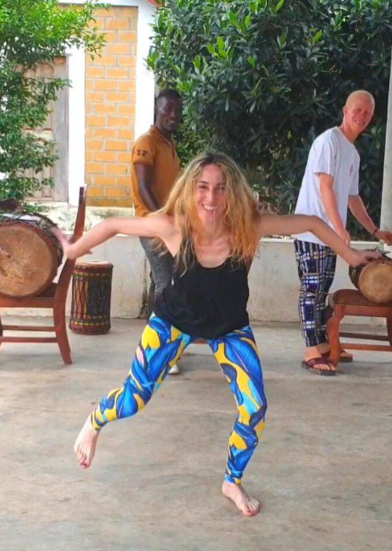 Danza africana Iniciación (I)-Djole